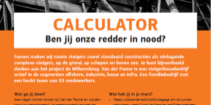 Vacature Calculator vanderpanne